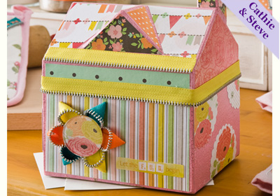 Cottage Home Recipe Box