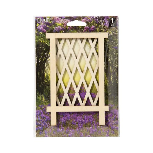 Plaid ® Wood Surfaces - Fairy Garden - Trellis