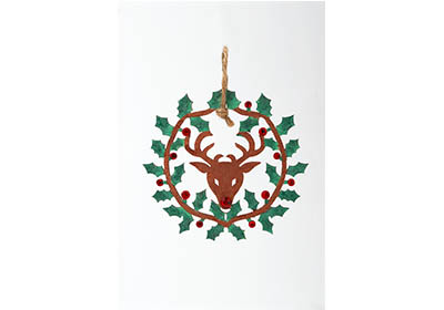 Woodsy Deer Ornament