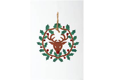 Woodsy Deer Ornament