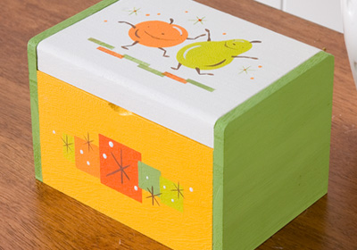 Festive Fruit Recipe Box