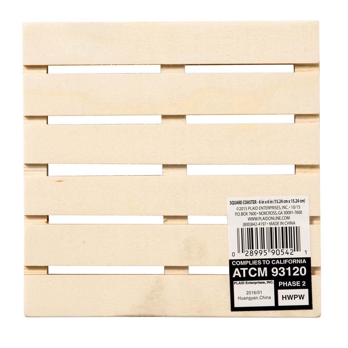 Plaid ® Wood Surfaces - Pallet Plaque, 6