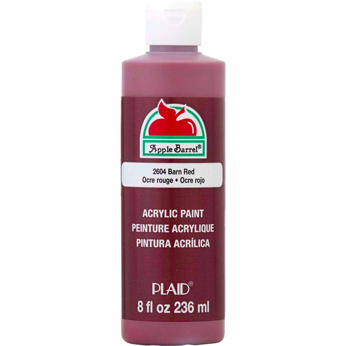 Apple Barrel ® Colors - Barn Red, 8 oz. - K2604