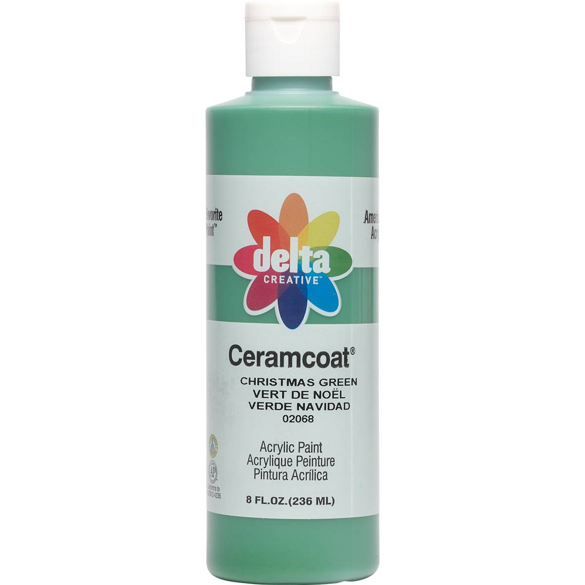 Delta Ceramcoat ® Acrylic Paint - Christmas Green, 8 oz.