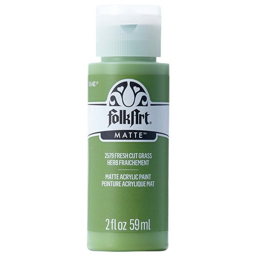 FolkArt ® Acrylic Colors - Cut Grass, 2 oz. - 2579