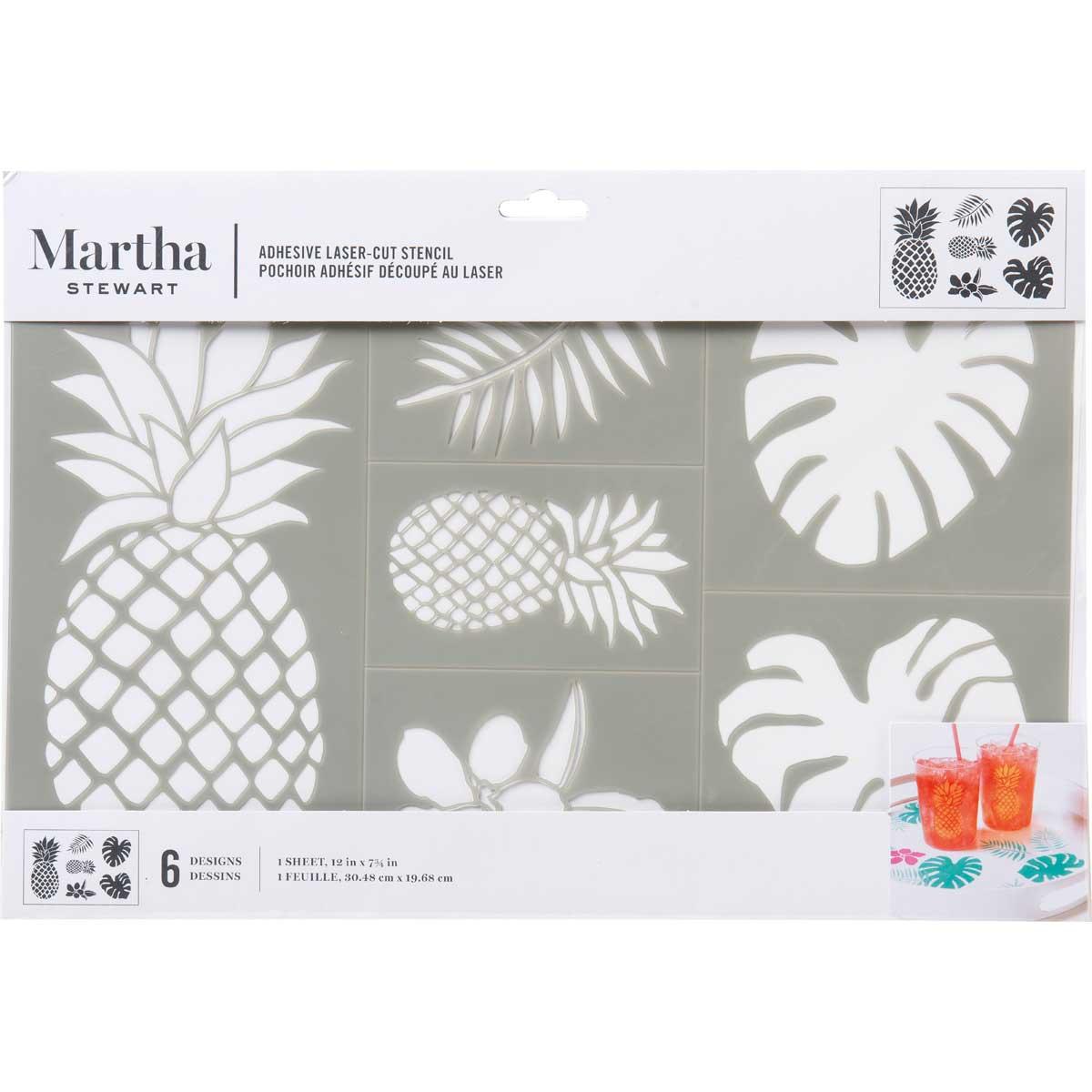 Martha Stewart ® Adhesive Stencil - Pineapple - 17639
