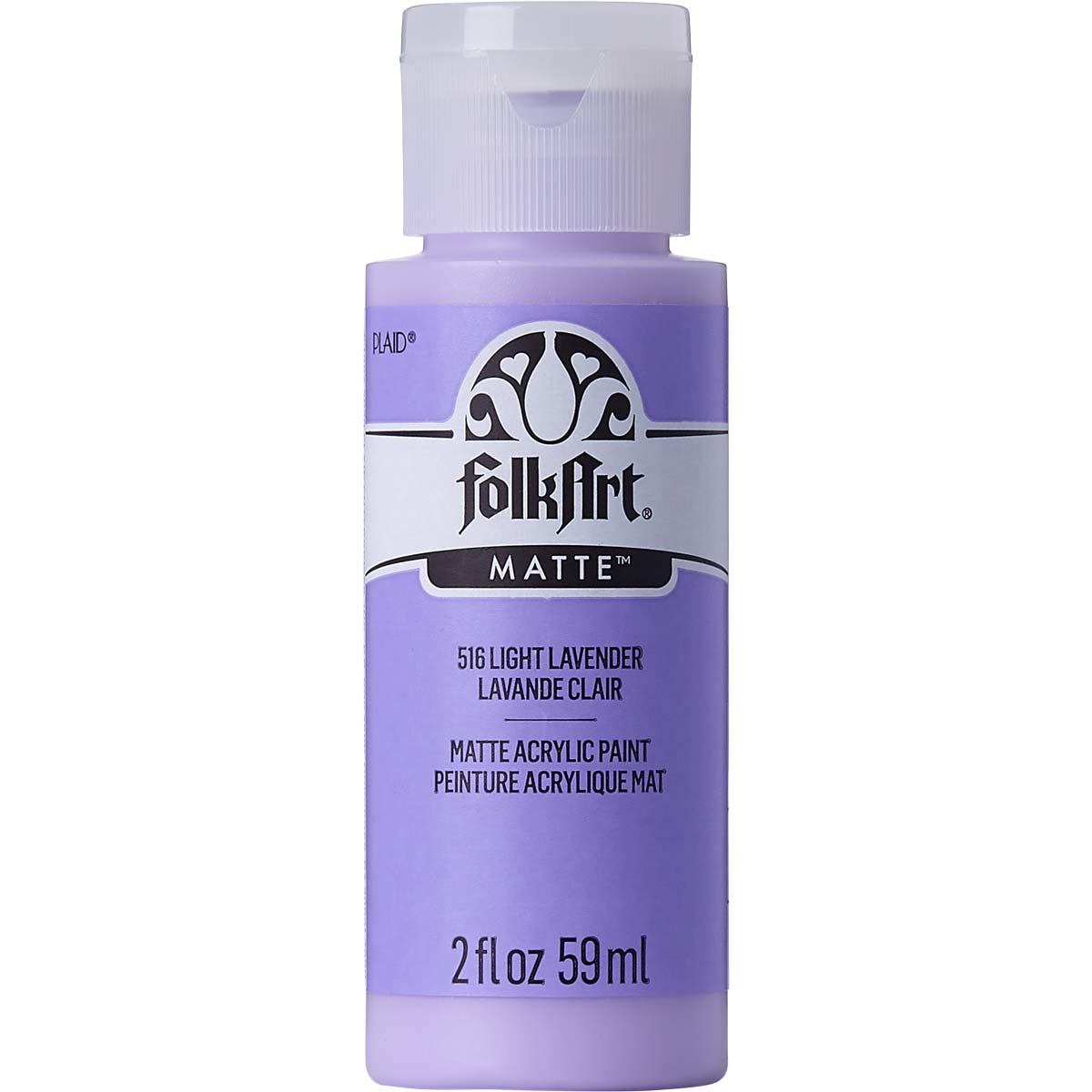 FolkArt ® Acrylic Colors - Light Lavender, 2 oz. - 516