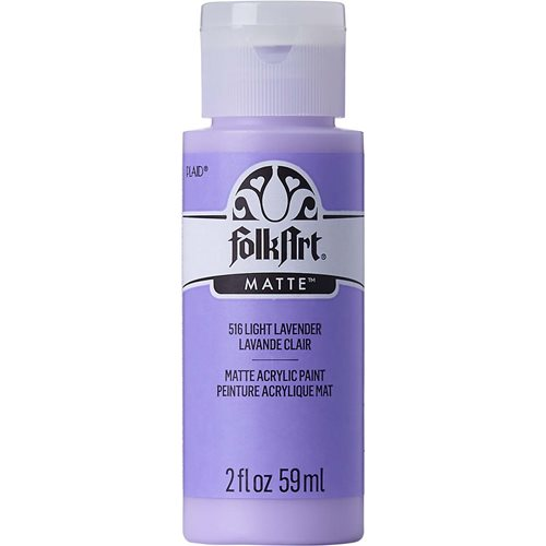FolkArt ® Acrylic Colors - Light Lavender, 2 oz.