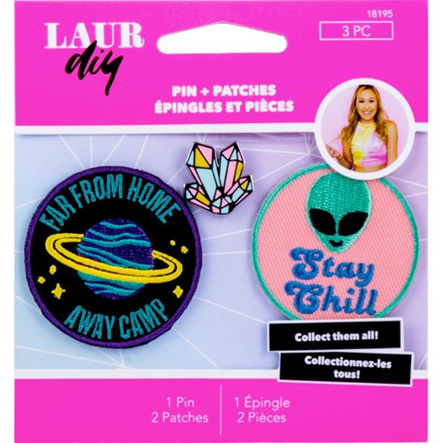 LaurDIY ® Pins & Patches - Galaxy Gurl