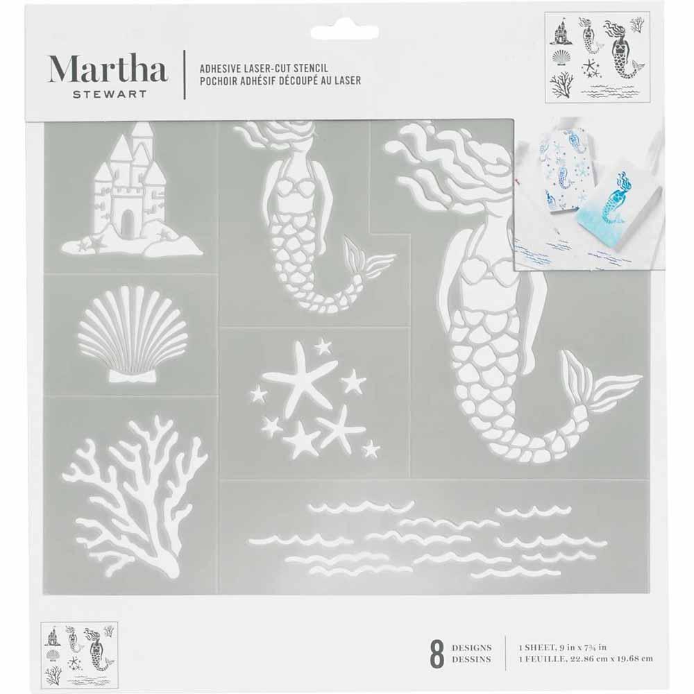 Martha Stewart® Adhesive Stencil - Mermaid
