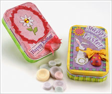 Easter Candy Tins