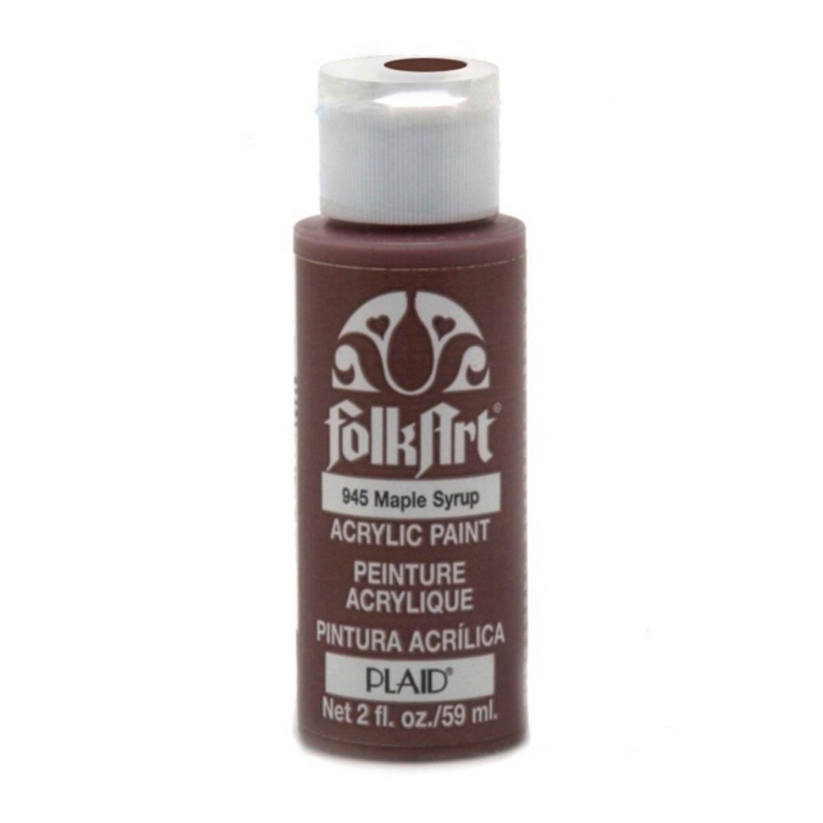 FolkArt ® Acrylic Colors - Maple Syrup, 2 oz.
