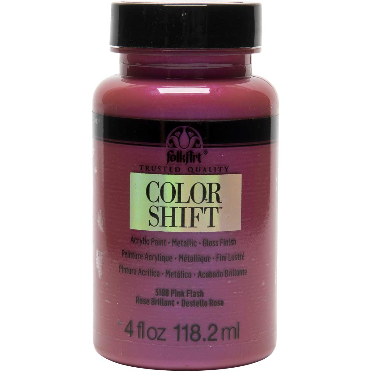 FolkArt ® Color Shift™ Acrylic Paint - Pink Flash, 4 oz. - 5188