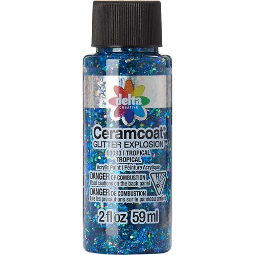 Delta Ceramcoat ® Glitter Explosion™ - Tropical, 2 oz. - 03093