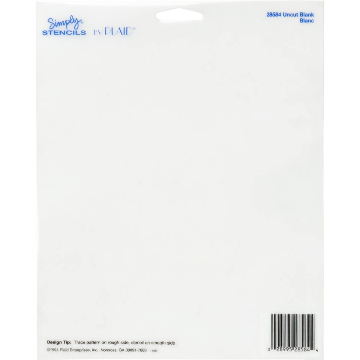 Simply ® Stencils - Uncut Blank