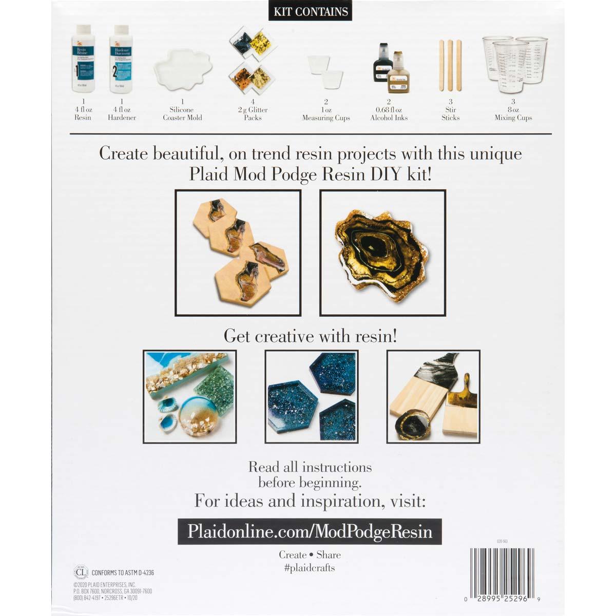 Mod Podge ® Do-It-Yourself Resin Kit - Coasters - 25296E