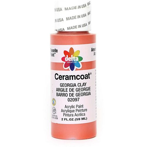 Delta Ceramcoat ® Acrylic Paint - Georgia Clay, 2 oz. - 020970202W