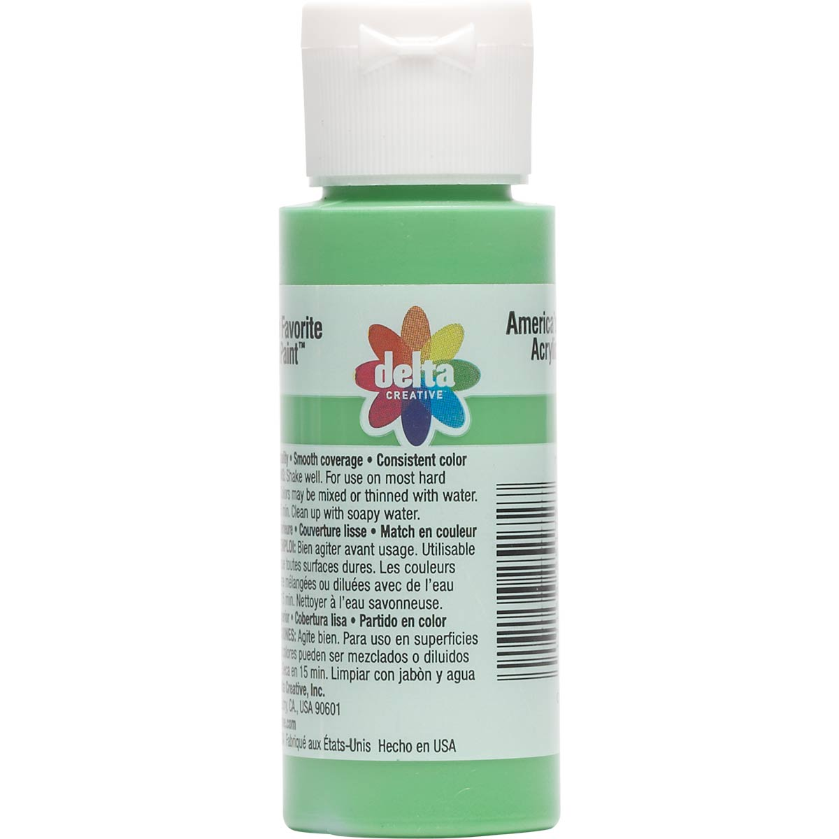 Delta Ceramcoat ® Acrylic Paint - Spring Green, 2 oz. - 025170202W