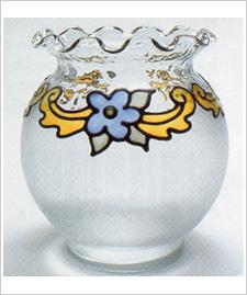 Floral Swag Vase