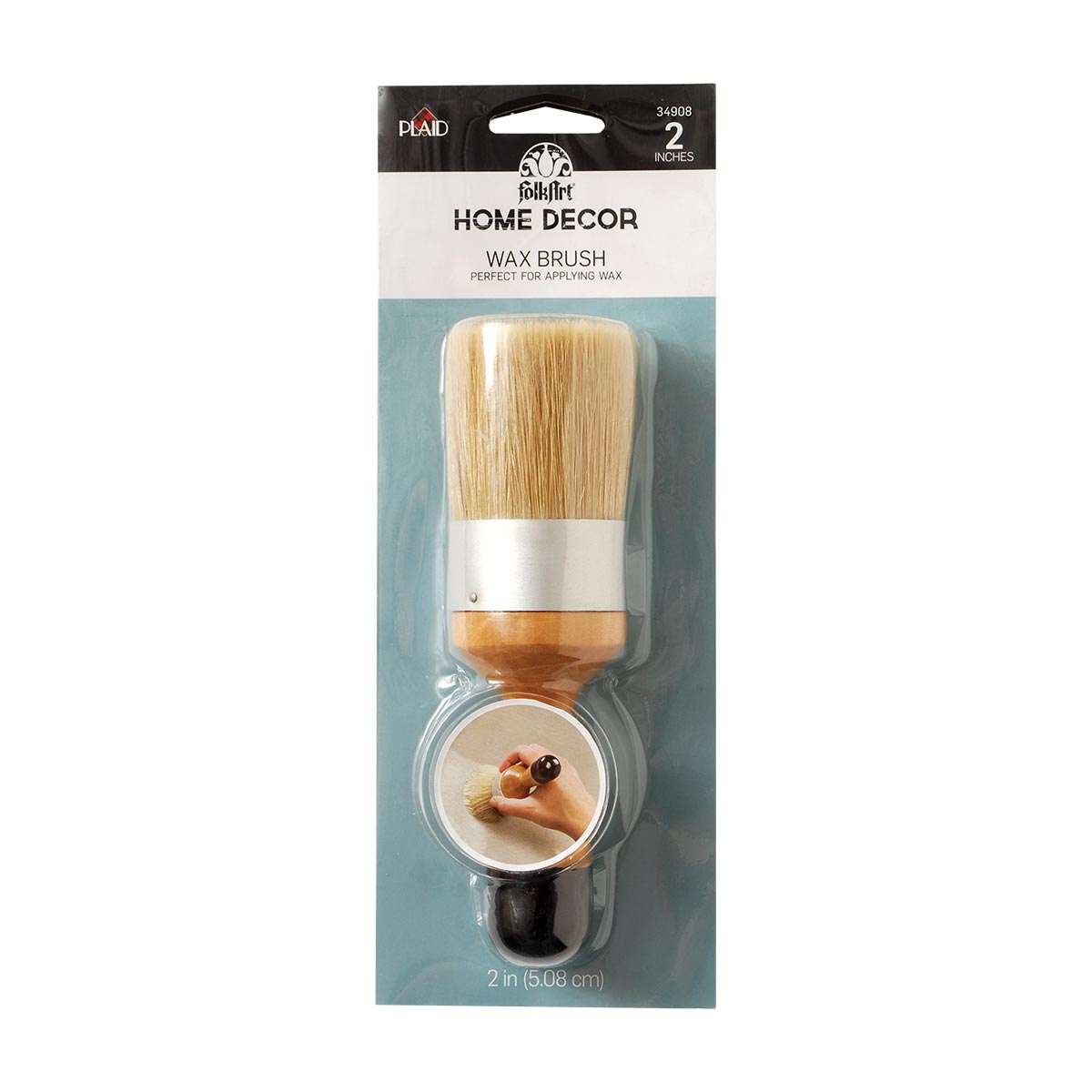 FolkArt ® Home Decor™ Brushes - Wax Brush - 34908