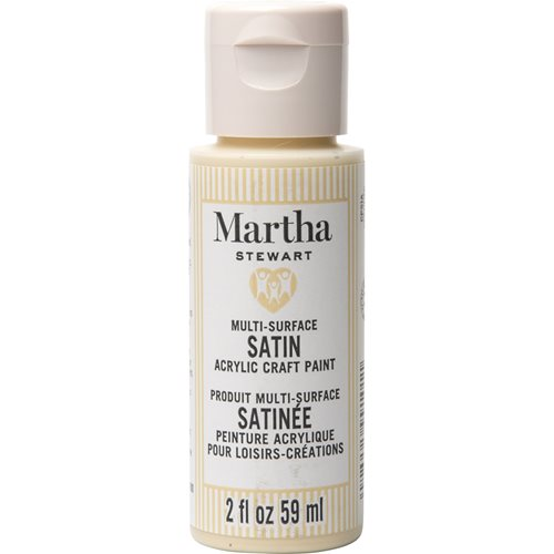 Martha Stewart ® Multi-Surface Satin Acrylic Craft Paint CPSIA - Fawn, 2 oz. - 99101