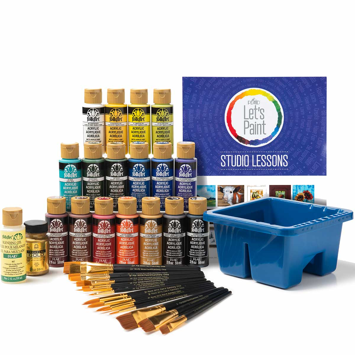 FolkArt ® Studio Series Let's Paint Kit