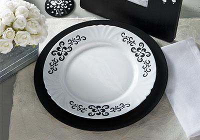 Black & White Elegance Ensemble