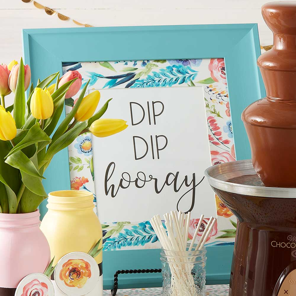 Dessert Bar Sign DIY