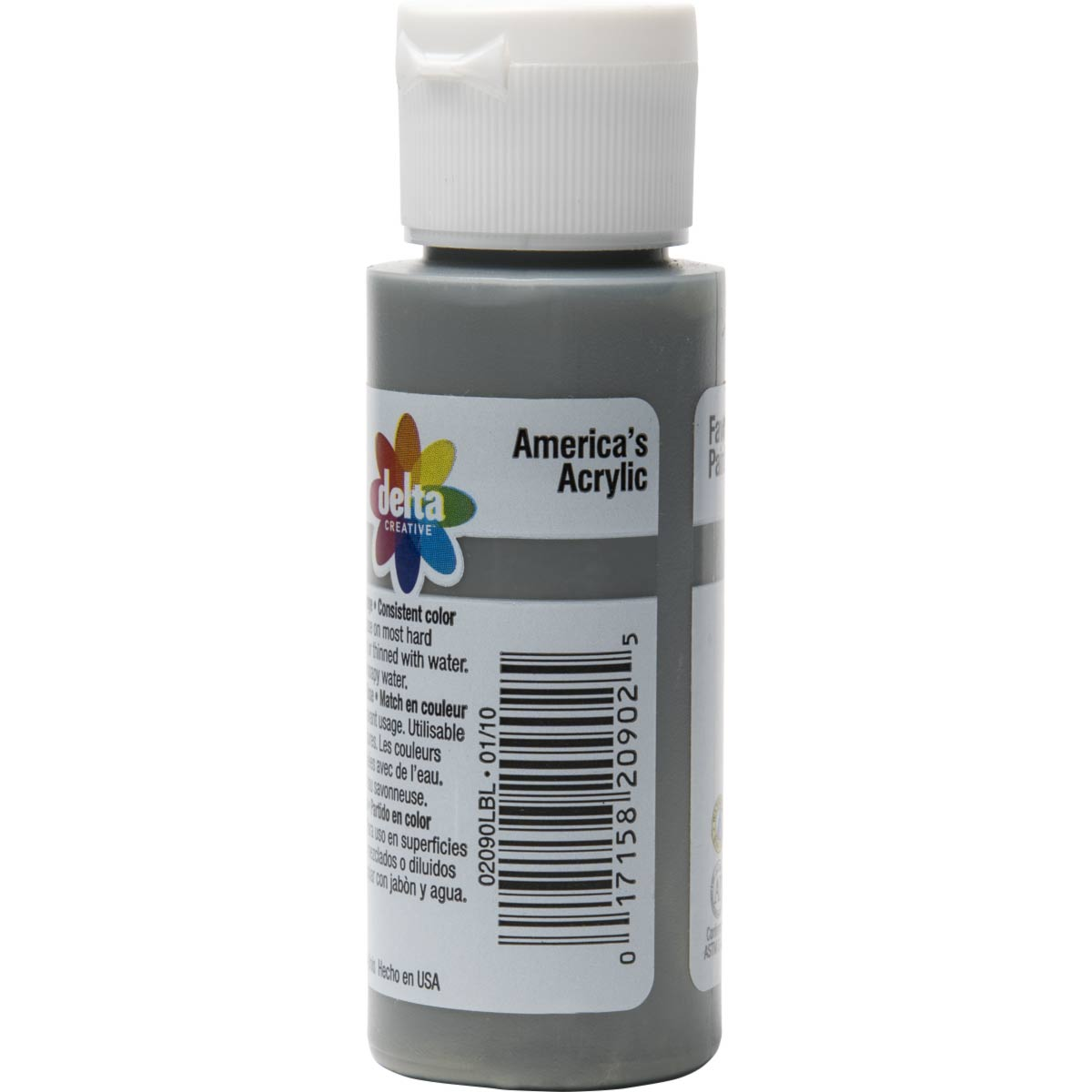 Delta Ceramcoat ® Acrylic Paint - Hippo Grey, 2 oz. - 020900202W