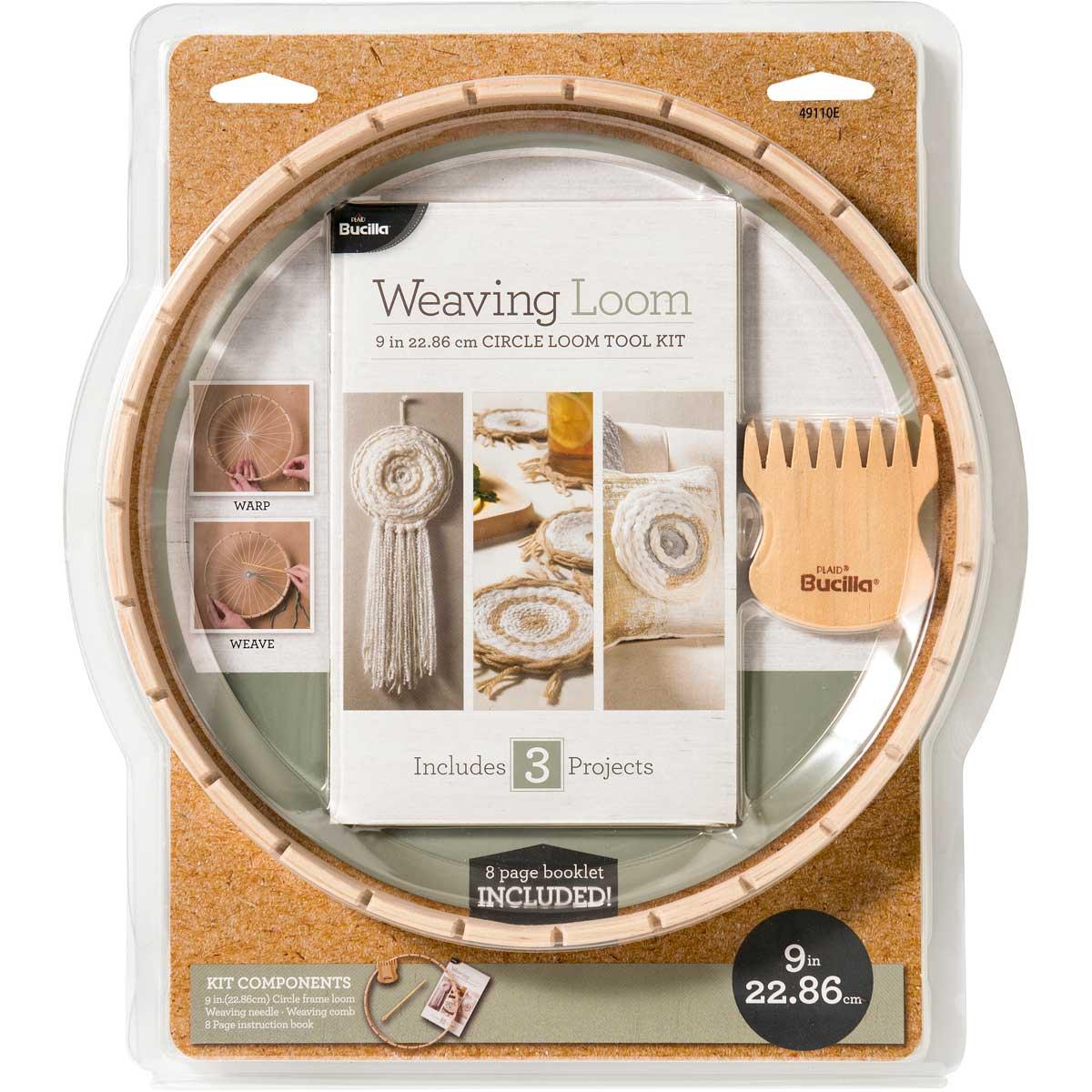 Bucilla ® Weaving Loom - 9 inch Circle Loom Kit - 49110