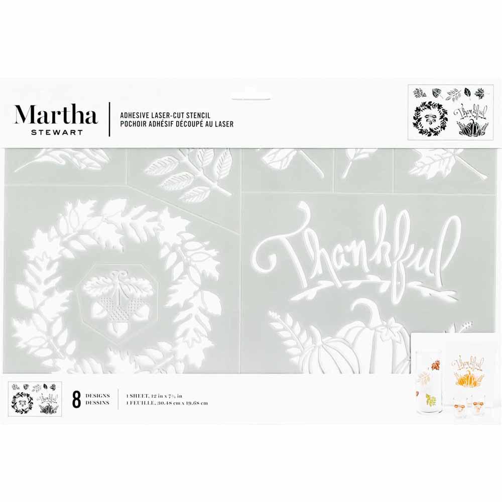 Martha Stewart ® Adhesive Stencil - Harvest - 5647