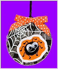 Halloween Spider Ornament
