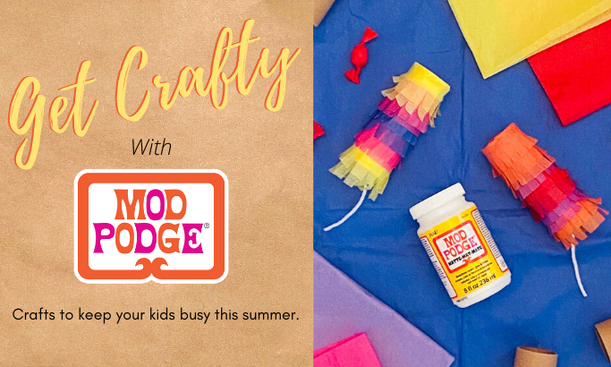 Get Crafty with Mod Podge - Part 9