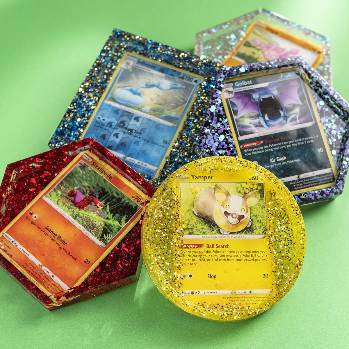 Pokemon TCG DIY Coasters