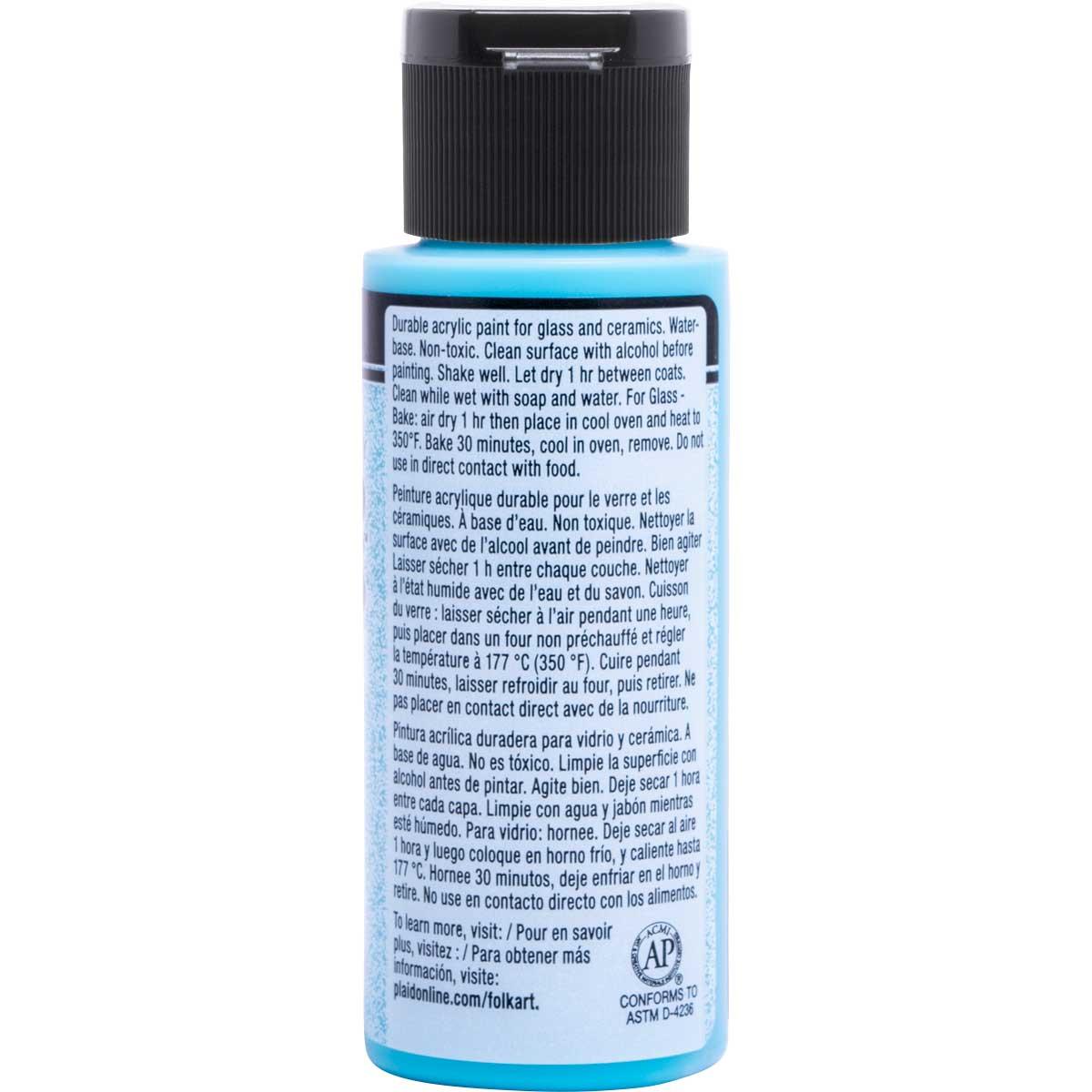 FolkArt ® Enamels™ - Frosted Turquoise, 2 oz. - 4461