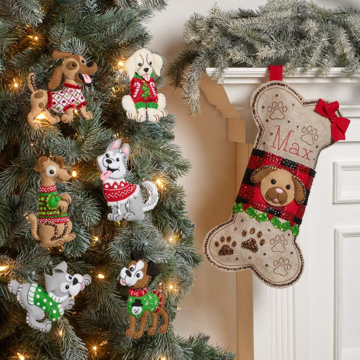 Bucilla ® Seasonal - Felt - Stocking Kits - Doggy Treat - 89315E