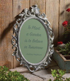 Baroque Concrete Picture Frame