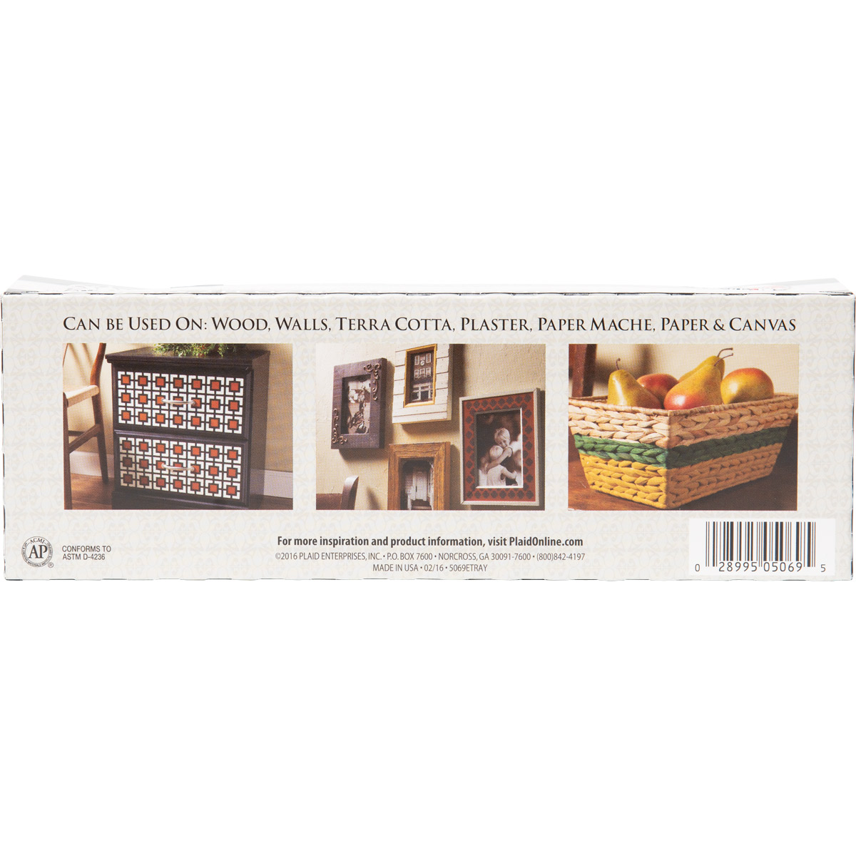 FolkArt ® Acrylic Colors Value Paint Set - Town Square, 12 Colors - 5069E