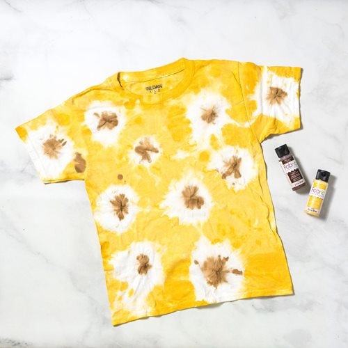 Sunflower Tie-Dye Shirt DIY