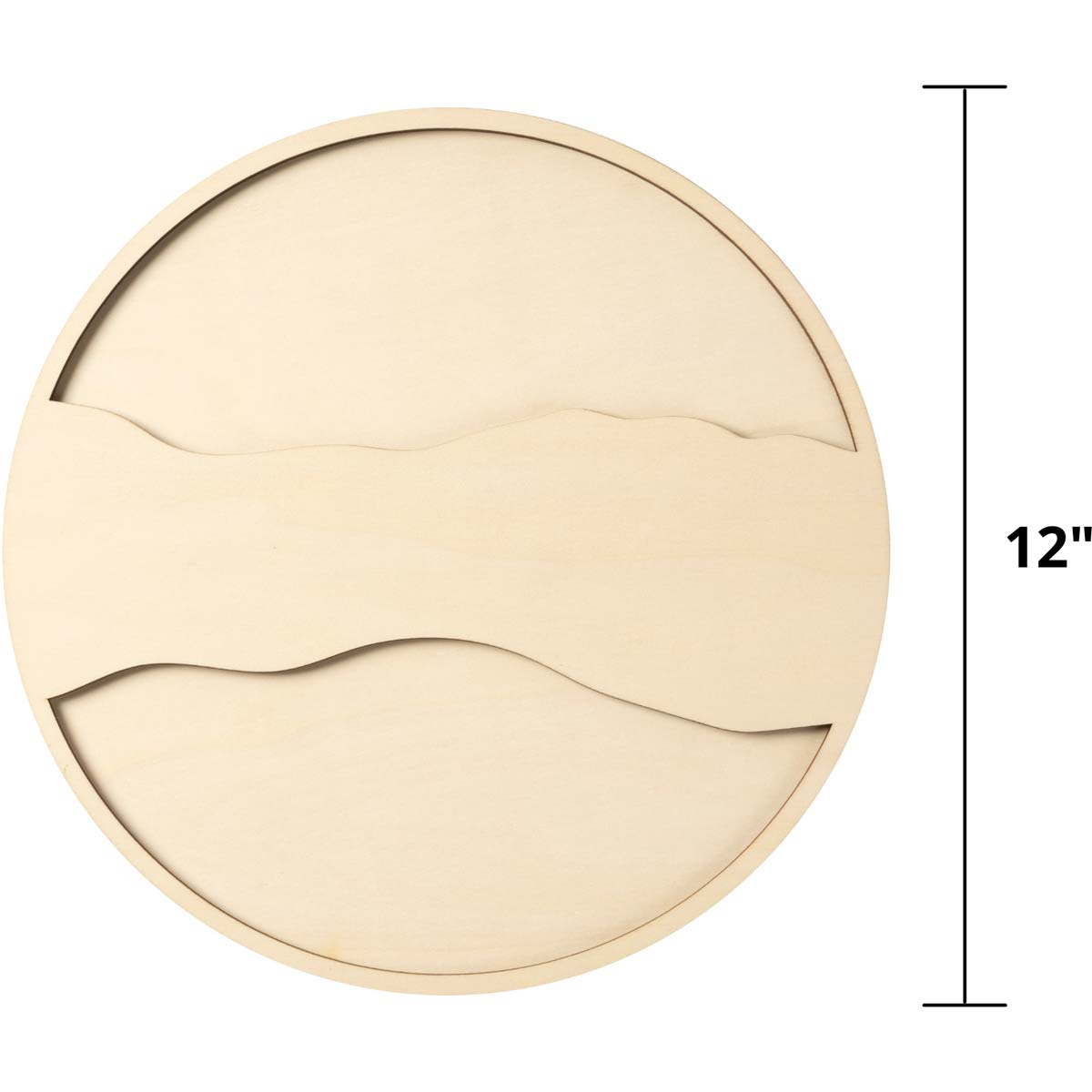 Mod Podge ® Resin Pouring Surface - Circle Plaque - 56644E
