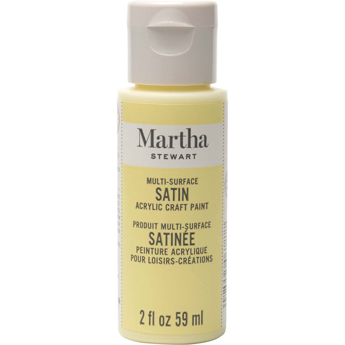 Martha Stewart ® Multi-Surface Satin Acrylic Craft Paint - Couscous, 2 oz. - 32066CA