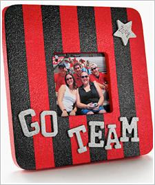 'Go team!' Frame