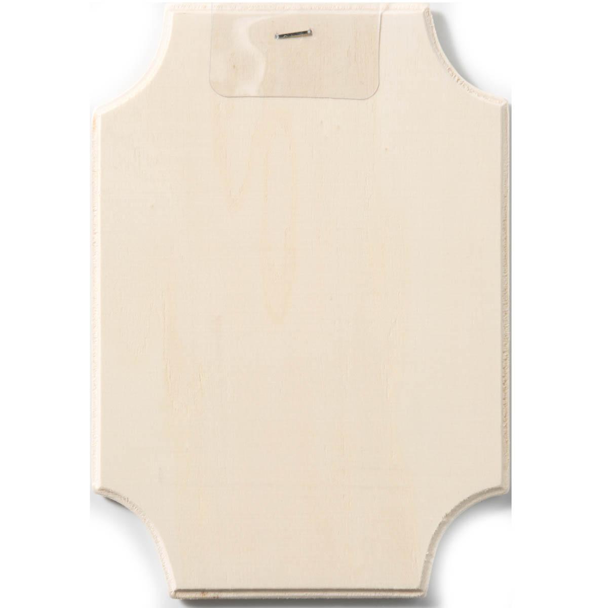 Plaid ® Wood Surfaces - Plaques - Corner