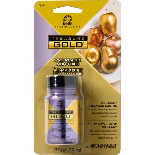 FolkArt ® Treasure Gold™- Light Amethyst, 2 oz. - 3111