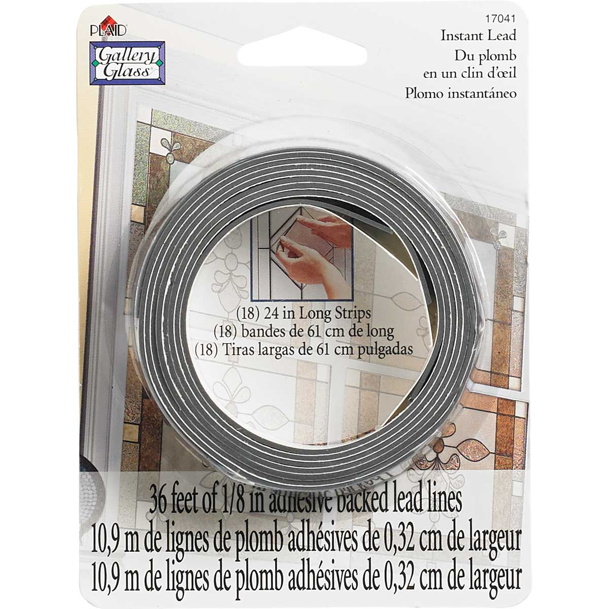 Gallery Glass ® Redi-Lead™ Strips - 24 inch lengths