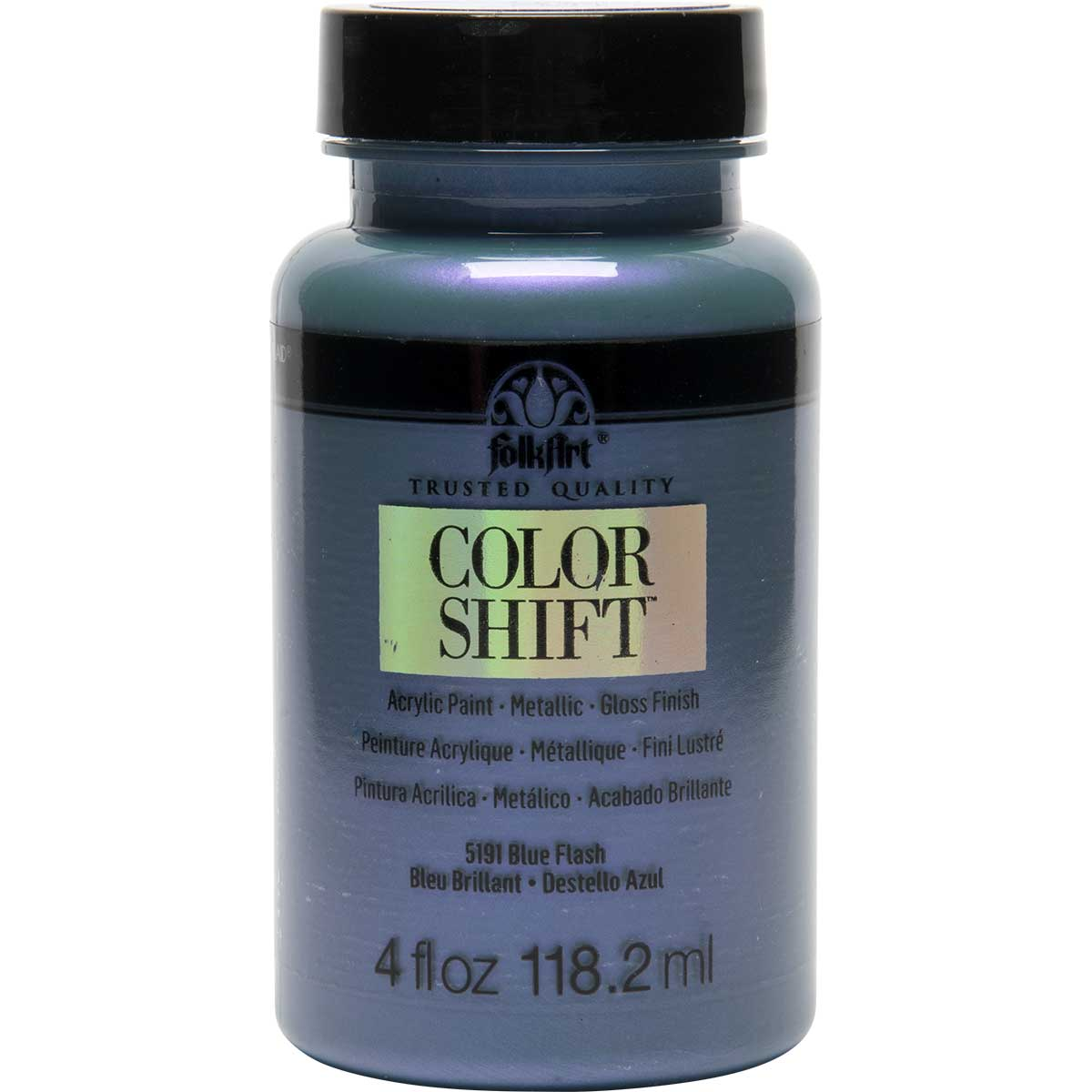 FolkArt ® Color Shift™ Acrylic Paint - Blue Flash, 4 oz. - 5191