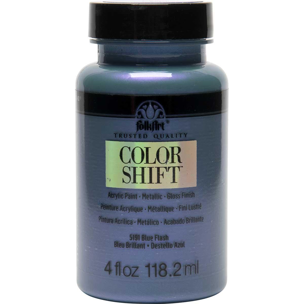 FolkArt ® Color Shift™ Acrylic Paint - Blue Flash, 4 oz.