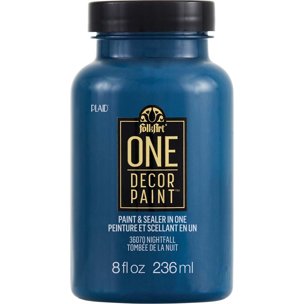 FolkArt ® One Décor Paint™ - Nightfall, 8 oz. - 36070