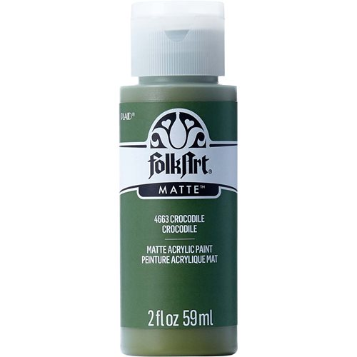 FolkArt ® Acrylic Colors - Crocodile, 2 oz.