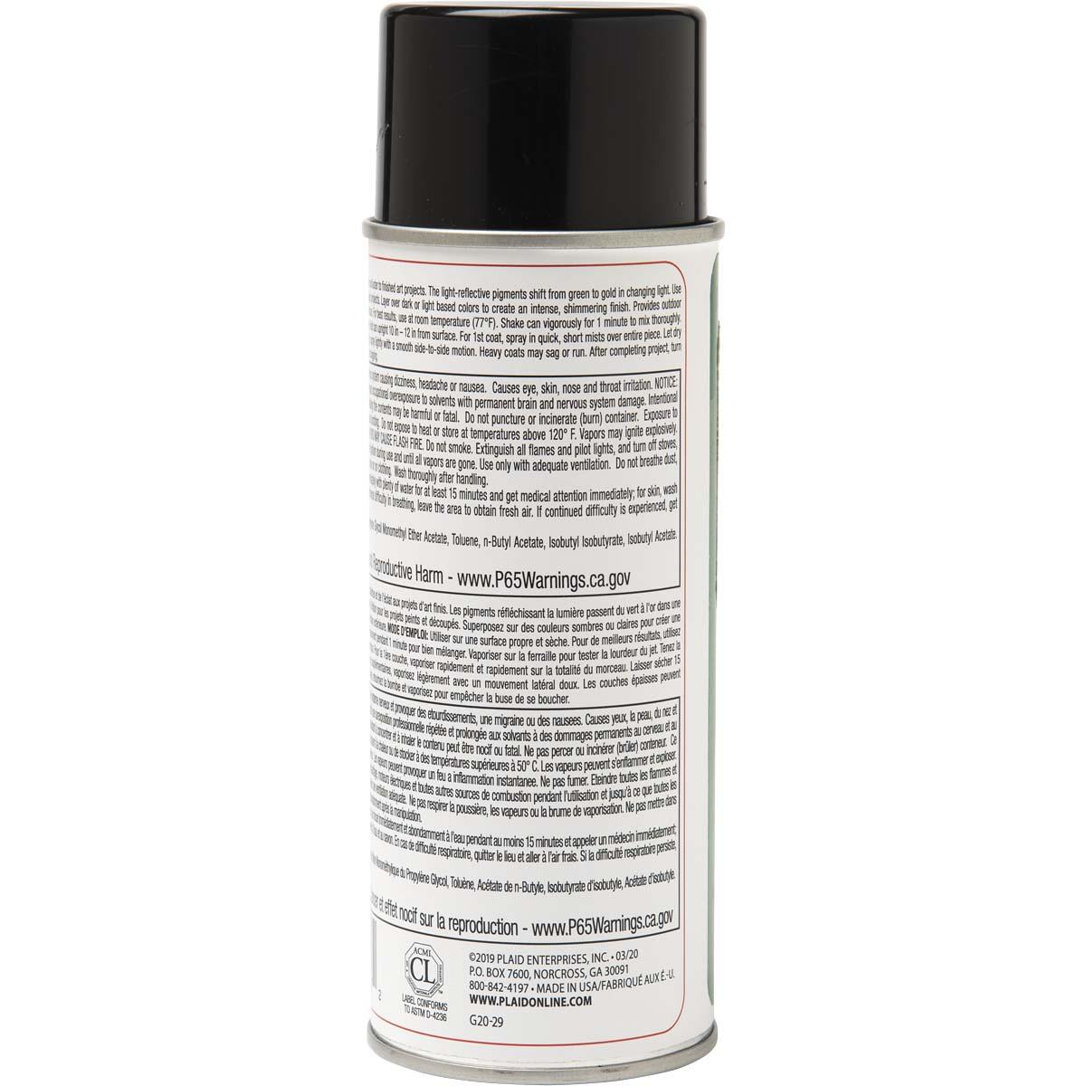 Mod Podge ® Iridescent Acrylic Sealer - Green to Gold Shift, 8 oz. - 1547
